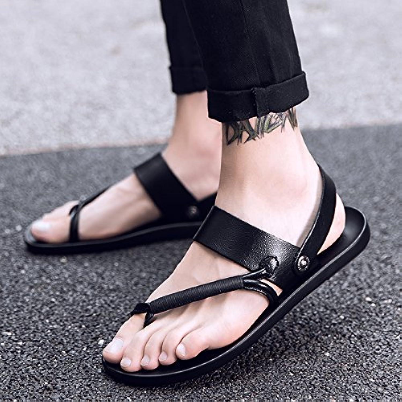 @Sandals Nuevo Estilo Flip Flops Zapatillas Para Hombres,44,Negro