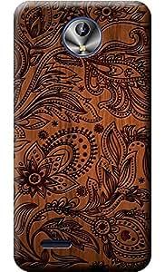 """Fashionury """"Protection Premium"""" Designed Soft Silicon Back Case Cover For Intex Amaze Plus"""