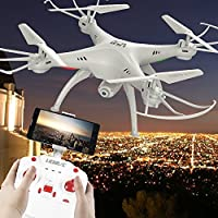 LiDi RC L15HW (SYMA X5SW upgrade) 2.4GHz 6-Axis Gyro Wifi FPV with HD camera RC Quadcopter Drone High hold mode easy to fly for beginers