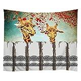 Violetpos Tapestry Indian Wandbehang Bettlaken Tapissery Tagesdecke Strand Decke Hippie Wand Hängende Dekor Funny Cat Drinking Beer 100 x 184 cm