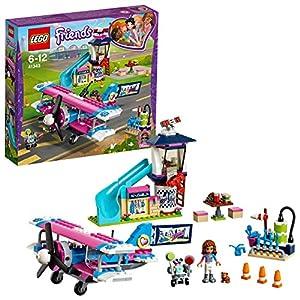 LEGO Friends - Excursión en Avión por Heartlake City, Juguete con Mini Muñeca de Olivia para Construir y Crear Aventuras, Incluye Avión y Figura de Robot (41343)
