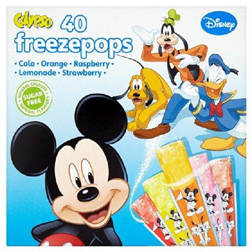 Preisvergleich Produktbild Calypso Disney Pixar Freeze-Pops 40 x 20 ml