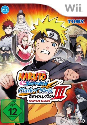 Nintendo WII Naruto Shippuden Clash of Ninja Revolution 3 [Importación Inglesa]