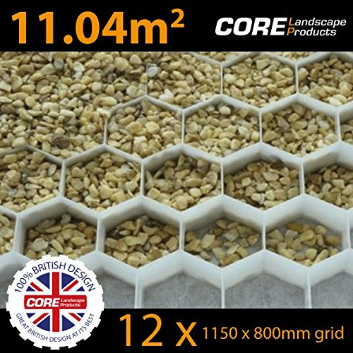 12-x-core-drive-38-25-white-1150mm-x-800mm-gravel-stabiliser-grid-with-attached-membrane-for-drivewa