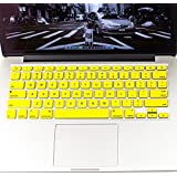 """Spider Designs Keyboard Protector For Apple Macbook AIR 13"""" (Yellow)"""