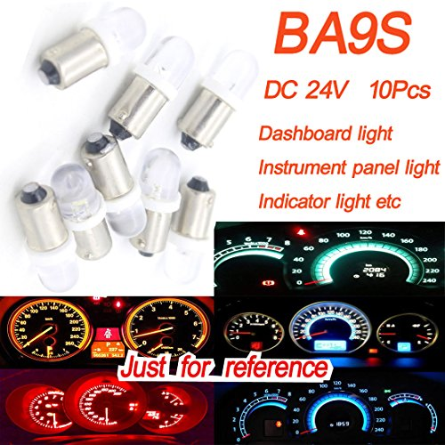 Preisvergleich Produktbild X10dongzhen Auto 24V Ba9s LED Armaturenbrett Licht für Volkswagen Honda Mazda Instrument Panel Shifter Leuchte