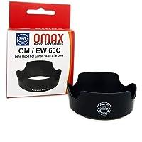 Omax EW-63C Lens Hood for Canon EF-S 18-55mm f/3.5-5.6 is STM -Black