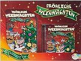 FRÖHLICHE WEIHNACHTEN - DVD + CD mit Urmel + Fix und Foxi + Der kleine Bär
