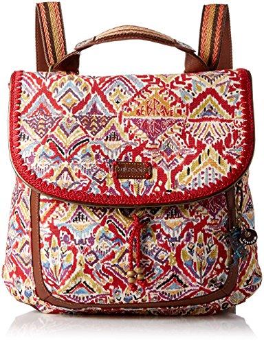 sakroots-damen-rucksackhandtasche-gr-one-size-sweet-red-brave-beauti
