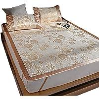 Comparador de precios YNN Alfombra de Seda de Hielo Alfombra Fresca Alfombra de Rattan Aire Acondicionado Asiento Alfombra de Dormir de Doble Cara Plegable Verano (Tamaño : 1.0m (3.3 Ft) Bed) - precios baratos