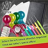 WINTEX 20 Mini Magnete N45 für Glas-Magnetboards / Magnettafeln / Kühlschränke, Maße 6 x 3 mm, mit sehr starker Haftung und 2 Jahren Zufriedenheitsgarantie - 7