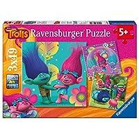 Ravensburger Trolls 3x 49pc Jigsaw Puzzles