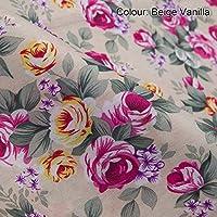 Tissu Imprimé Roses, motif anglais classique. Neotrims. 5 Modèles. A la pièce (50x75cm), au Demi-mètre et au Mètre. Pour Couture, Vêtements, Décoration intérieure, Rideaux ou Edredon Patchwork !