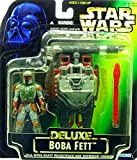 Boba Fett with Wing Blast Rocket Pack DeLuxe Set - Star Wars Power of the Force Collection von Hasbro / Kenner