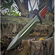 Russo AK-47(baionetta AK47) CCCP–Classico a baionetta–Pagina fucile–coltello da combattimento militare–Coltello da caccia 31cm