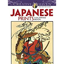 Japanese Prints (Creative Haven Coloring Books)