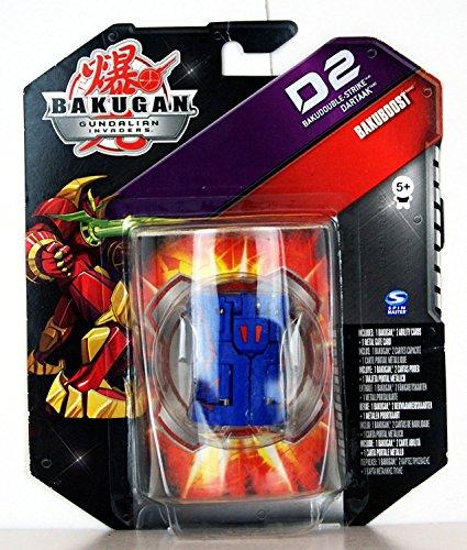 Bakugan - Gundalian Invaders - Bakuboost - D2 Bakudouble-Strike Dartaak (Blue) - 44745