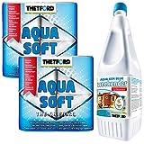 Thetford Sanitärzusatz 2L Aqua KEM Blue Weekender + 2X Aqua Soft Toilettenpapier