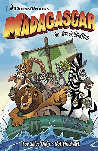 dreamworks-madagascar-comics-collection