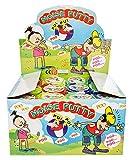 4 x WC Pupsschleim Schleim 4 Farben Slime im Klo Furzschleim Slimey Halloween