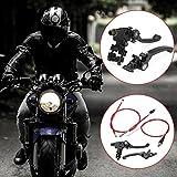 1 Paar Motorrad Bremskupplungshebel mit Bowdenzug Gaszug Bremszug und Kupplungsseil Kupplungszug Passend für CRF50 SSR KLX 110cc 125ccm 150cc Pit Dirt Bike