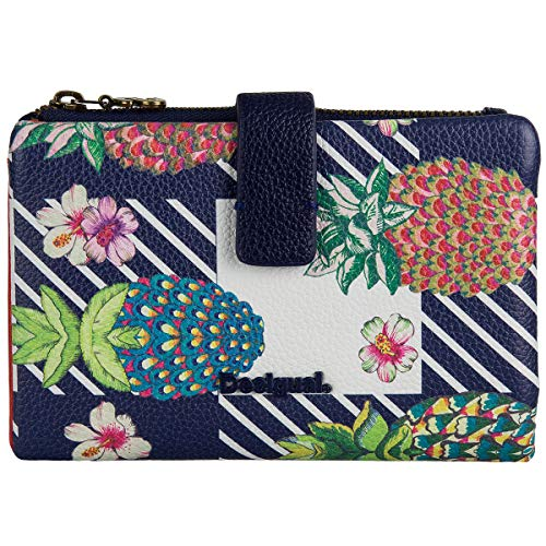 Desigual Pinacolada Julia Medium Wallet Navy