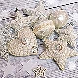 Ambiente Papierservietten - Servietten Lunch / Party / ca. 33x33cm Tree Ornaments - Weihnachten - Baumschmuck - Ideal Als Geschenk Und Tisch-Deko