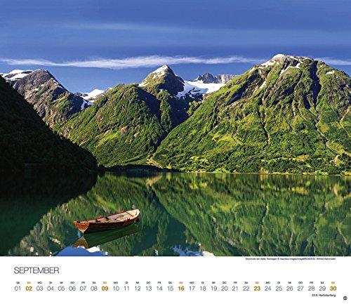 Skandinavien Globetrotter - Kalender 2018: Alle Infos bei Amazon