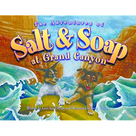 The Adventures of Salt and Soap at Grand Canyon (English Edition)