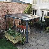 Aluminium Pavillon Überdachung Gazebo Milano 4300 436x316 cm // Sommer-Pavillon und Gartenpavillon mit 6mm Doppelstegplatten