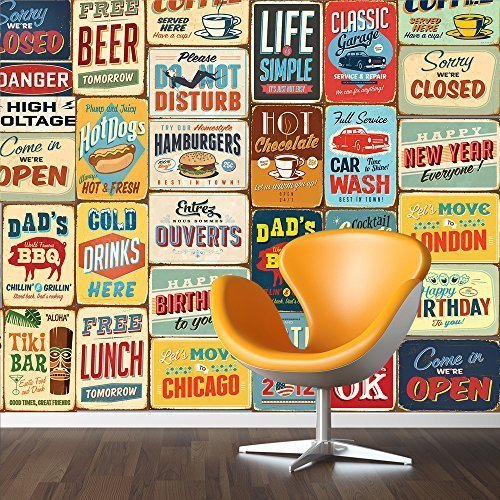 walplus-152x161-cm-wall-stickers-vintage-metal-sign-collage-1-pack-removable-self-adhesive-mural-art