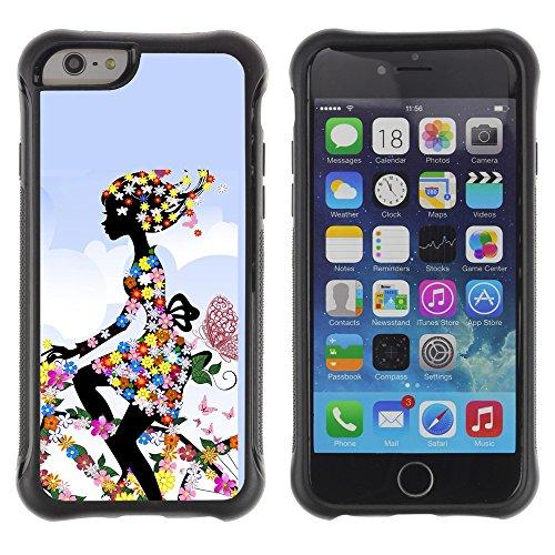 Graphic4You Amerikanisches Geld Design Shockproof Anti-Rutsch Weichen Hülle Case Tasche Schutzhülle für Apple iPhone 6 Plus / 6S Plus Design #16