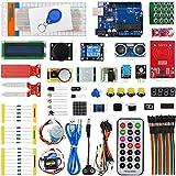 RFID UNO R3 Starter Kit Servomotori Moduli Sensori Parti UNO R3 Controller Board LCD1602, Più di 60 Tipi Componente di Arduino con Tutorial Gratuiti