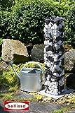 Bellissa Wasserzapfsäule Gabione 16x16x90 cm; Bodenplatte 28x28 cm