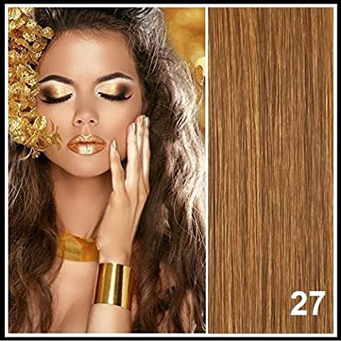 Athenia® 22'' inch Clip in Futura Hair Extensions - Six Piece Full Head set - ** 150 GRAMS of hair per pack ** - Heat Style up to a Massive 200 Degrees - Superior Salon Quality - Natural Look & Feel - Colour #Light