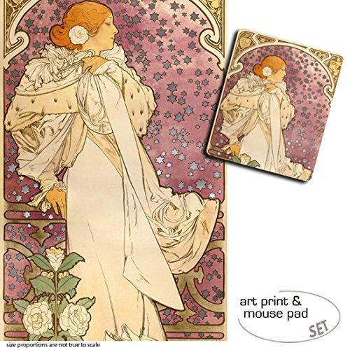 set-regalo-1-poster-impresion-artistica-120x80-cm-1-alfombrilla-para-raton-23x19-cm-alphonse-mucha-s