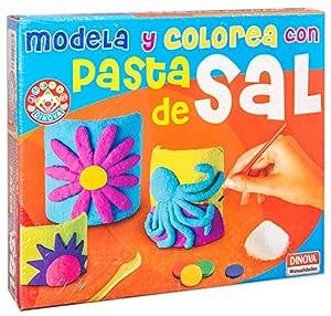Juinsa- Juego Modela y colorea con Pasta de Sal, 32 x 27 cm (Susaeta 96551.0)