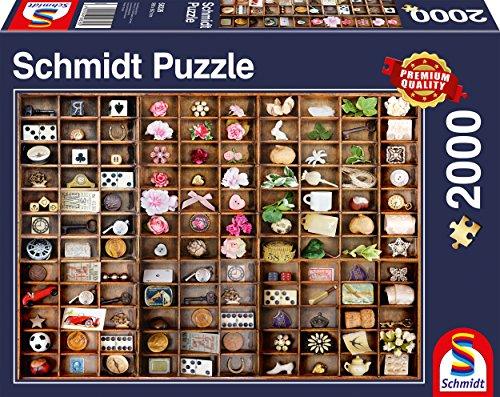 Schmidt Miniature Treasures - Puzzle (2000 Piezas)