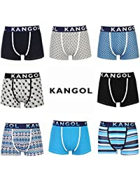 Kangol Deluxe Mens Boxer Shorts / Trunks Assorted 6 Pack All Sizes - Great Value (Colours May Vary)