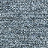 Fabulous Fabrics Strick Melange blaugrau — Meterware ab 0,5m — zum Nähen von Strickkleidern, Strickjacken und Strickröcken