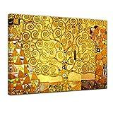 Bilderdepot24 Kunstdruck - Alte Meister - Gustav Klimt - Lebensbaum - 50x40cm einteilig - Leinwandbilder - Bild auf Leinwand