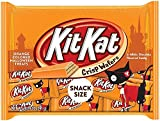 Kit Kat Orange-Colored Halloween Treats Snack Size Candy,...
