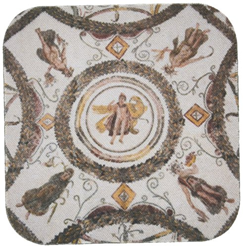 3dRose CST 73650_ 2Tunesien, EL Jem, EL Jem Museum, Roman-era mosaic-af47wbi0224-walter bibikow-Soft Untersetzer, Set von 8