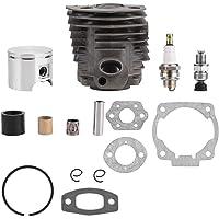 KIMISS KI6187 Anelli di montaggio del pistone del cilindro del filtro di anelli del pistone di 39mm per il motociclo del motorino del motorino del motorino del motociclo 50CC