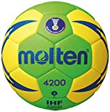 Molten Herren H3X4200-GY Handball Grün 3
