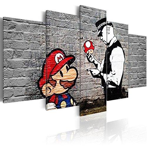 Murando   Cuadro 200x100 cm   Banksy   Lienzo Tejido