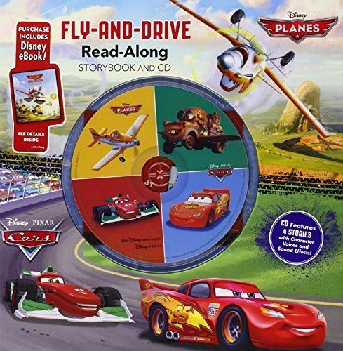 Cars / Planes: Fly-and-Drive Read-Along Storybook and CD: Purchase Includes Disney eBook!: CD Features 4 Stories with Character Voices and Sound Effects! by Disney Book Group (2014-06-03)