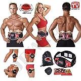 Gymform ABS-A-Round Pro Muskeltraining und Massagegürtel in Größen S / M (65-99cm), L / XL (100-140cm) - Original Produkt aus TV-Werbung