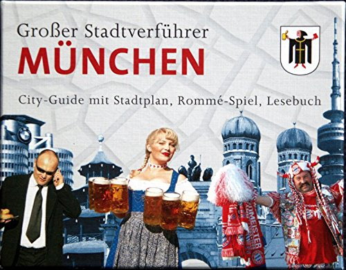 Preisvergleich Produktbild Stadtverführer / Großer Stadtverführer München: City-Guide mit Stadtplan, Rommé-Spiel, Lesebuch