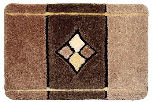 Grund 60 x 60 cm AKANT Luxury Bath Mat, Caramel